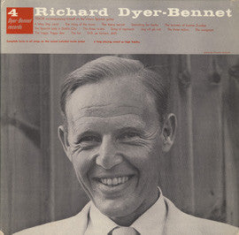Richard Dyer-Bennet  Bennet 4 (1957) CD