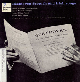 Richard Dyer-Bennet 7  Beethoven  Scottish and Irish Songs (1958) CD