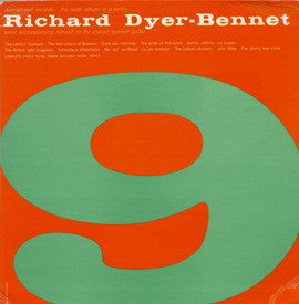 Richard Dyer-Bennet, Vol. 9 CD