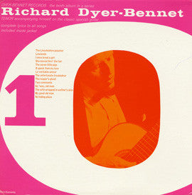 Richard Dyer-Bennet  Bennet 10 (1962) CD