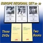 JVC Europe Music and Dance Regional Set -- 3 DVDs and 1 CD-ROM with 9 printable, searchable and copy-permission books -- ON SALE!!