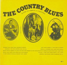 Country Blues, Vol. 1 (1959)  Robert Johnson, Blind Lemon Jefferson, Bill Broonzy, others CD