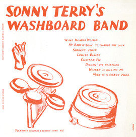 Sonny Terry's Washboard Band (1955)  CD