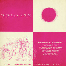 Andrew Rowan Summers  Seeds of Love (1951) CD