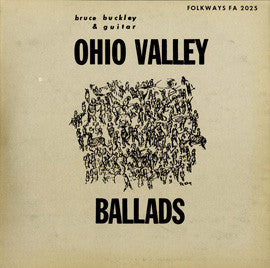 Bruce Buckley  Ohio Valley Ballads (1955) CD