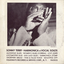 Harmonica and Vocal Solos (1956)  Sonny Terry CD