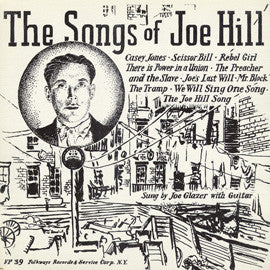 Joe Glazer  Songs of Joe Hill (1954) CD