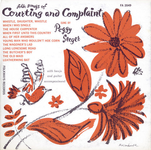 Peggy Seeger  Songs of Courting and Complaint (1955) CD