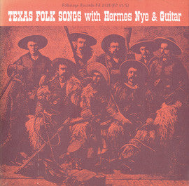 Hermes Nye   Texas Folk Songs (1955) CD