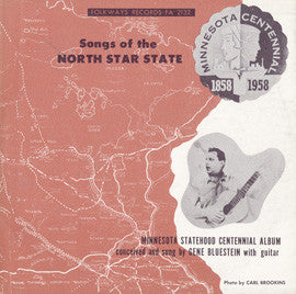 Gene Bluestein  Songs of the North Star State (1958) CD