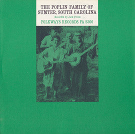 Poplin Family  The Poplin Family of Sumter, South Carolina (1963) CD