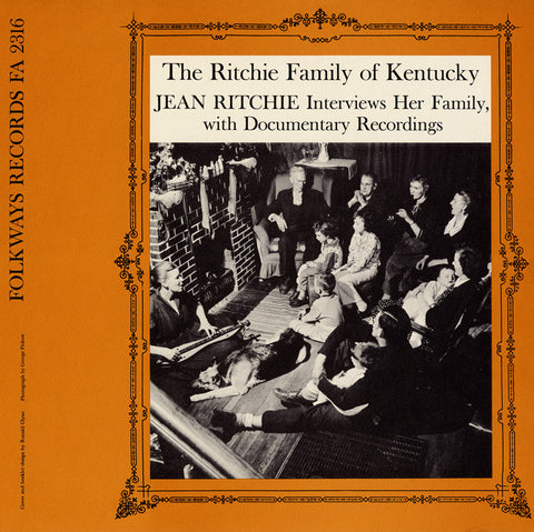 Ritchie Family  The Ritchie Family of Kentucky (1958) CD