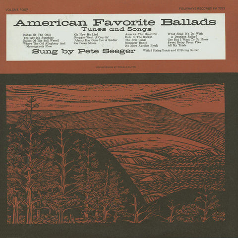 Pete Seeger: American Favorite Ballads, Vol. 4 (1961) CD
