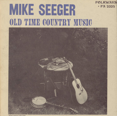 Mike Seeger  Old Time Country Music (1962) CD