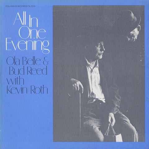 Ola Belle and Bud Reed with Kevin Roth   All in One Evening (1978) CD