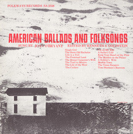 American Folk Anthologies  American Ballads and Folk Songs (1958) CD