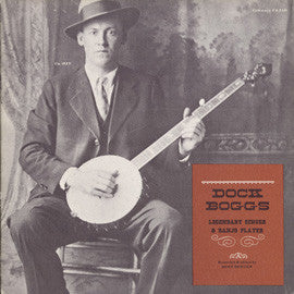 Dock Boggs  Legendary Singer and Banjo Player (1964) CD