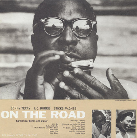On the Road (1959)  Sonny Terry CD