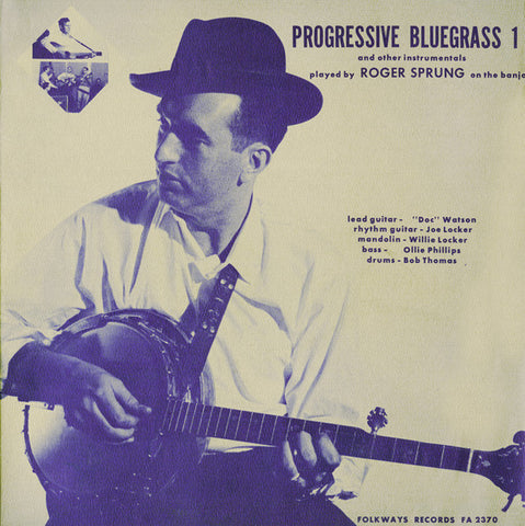 Roger Sprung  Progressive Bluegrass and Other Instrumentals (1963) Vol 1 CD
