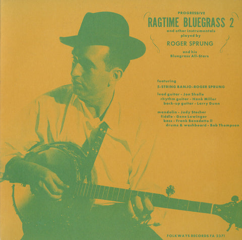 Roger Sprung  Progressive Ragtime Bluegrass Vol 2  (1964) CD