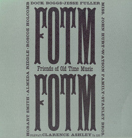 American Folk Anthologies  Friends of Old Time Music with Doc Watson, Dock Boggs, The Stanley Brothers, others (1964) CD