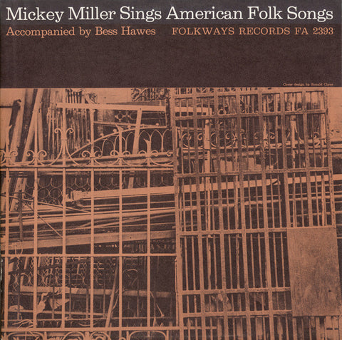 Mickey Miller  Mickey Miller Sings American Folk Songs (1959) CD