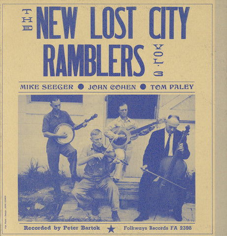 New Lost City Ramblers  Vol. 3 (1961) CD