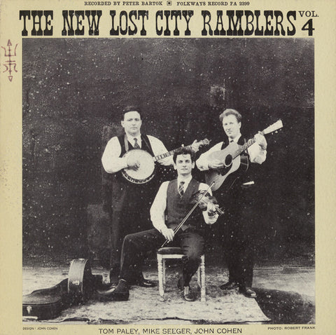 New Lost City Ramblers  Vol. 4 (1962) CD