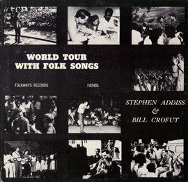 Steve Addiss and Bill Crofut  World Tour with Folk Songs (1962) CD