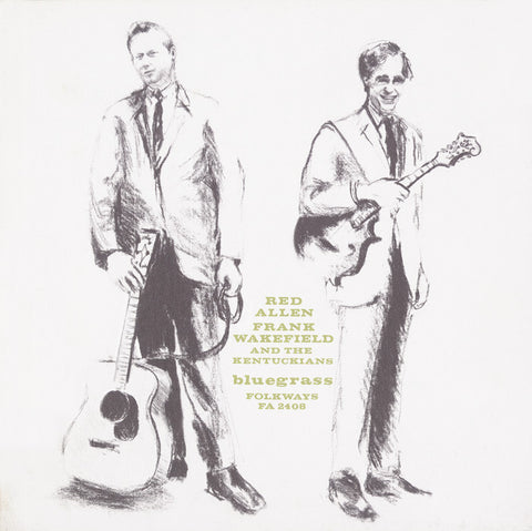 Red Allen, Frank Wakefield and the Kentuckians  Bluegrass (1964) CD