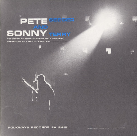 Pete Seeger  with Sonny Terry, Recorded at Their Carnegie Hall Concert (1958) CD