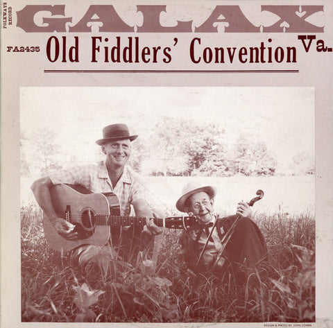 Old Time Fiddler's Convention, Galax, Virginia (1964)  CD
