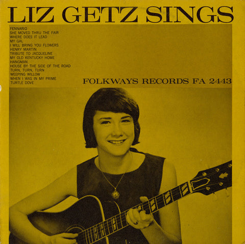 Liz Getz  Liz Getz Sings (1965) CD