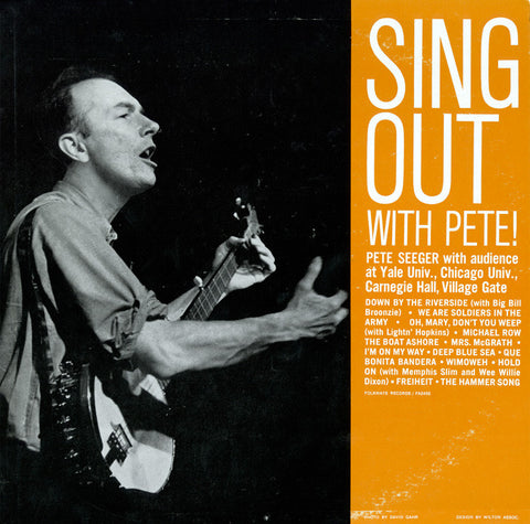Pete Seeger  Sing Out with Pete! (1961) CD