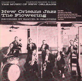 The Music of New Orleans, Vol. 5  New Orleans Jazz  The Flowering (1959)  CD