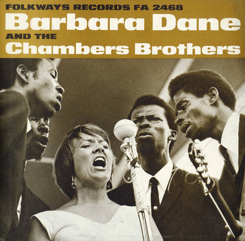 Barbara Dane  Barbara Dane and the Chambers Brothers (1966) CD