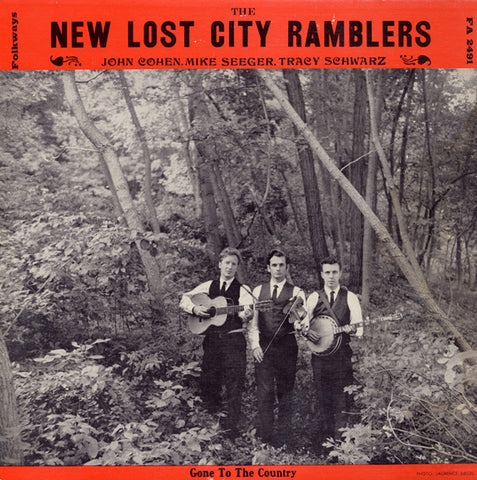 "New Lost City Ramblers  The ""New"" New Lost City Ramblers with Tracy Schwarz, Gone to the Country (1963) CD"