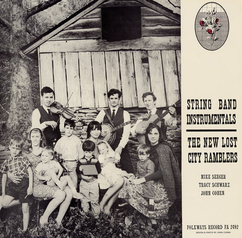 New Lost City Ramblers  String Band Instrumentals (1964) CD