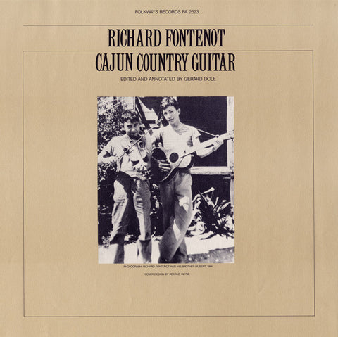 Richard Fontenot  Cajun Country Guitar (1978) CD