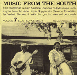 American Folk Anthologies  Music from the South, Vol. 7, Elder Songsters 2 (1956) CD