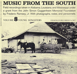 American Folk Anthologies  Music from the South, Vol. 8, Young Songsters (1956) CD