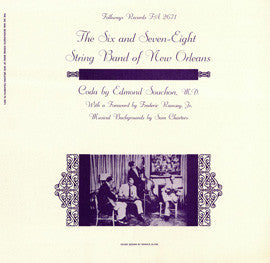 The Six and Seven-Eights String Band of New Orleans (1956)  CD
