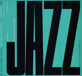 Jazz, Vol. 5  Chicago, No. 1 (1951)  King Oliver, Louis Armstrong, Jelly Roll Morton, others CD
