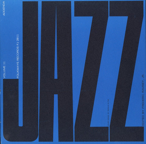 Jazz, Vol. 11  Addenda (1953)  Fats Waller, Sydney Bechet, Dizzy Gillespie, others CD