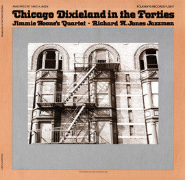 Chicago Dixieland in the Forties (1981)  Jimmy Noone's Quartet, Richard M. Jones Jazzmen CD