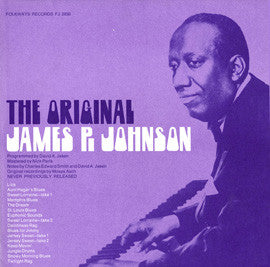 Piano Solos (1973)  James P. Johnson CD
