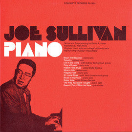 Joe Sullivan  Piano (1973)  CD