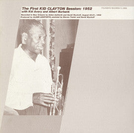 The First Kid Clayton Session  1952 (1983)  CD