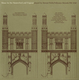 Stewart Robb:  Music for the Harpsichord and Virginal (1962) CD