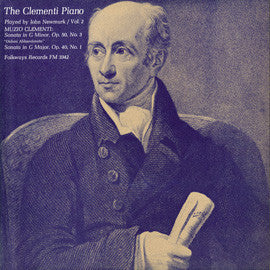 John Newmark:  The Clementi Piano, Vol. 2 (1964) CD